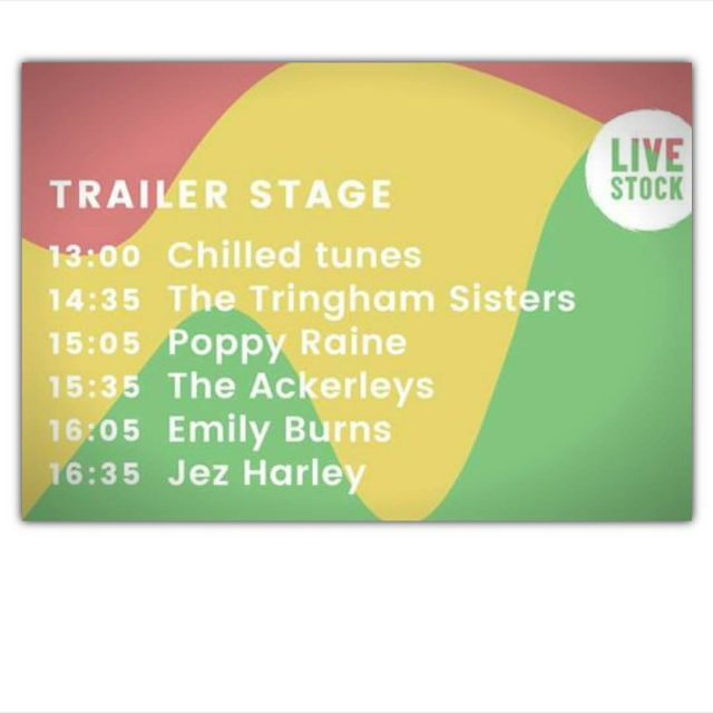 Your LS17 Trailer Stage line up! On stage from 1pmhellip