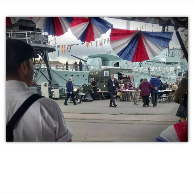 So much nostalgia in the air today thehistoricdockyardchatham the salutetothe40shellip